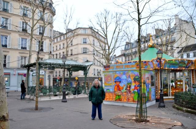 Mom in Paris (Jan. 2013)