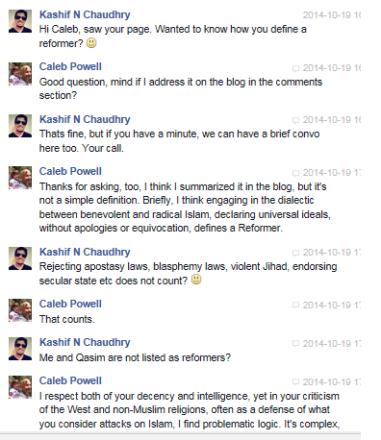 Kashif Chaudhry vs Caleb