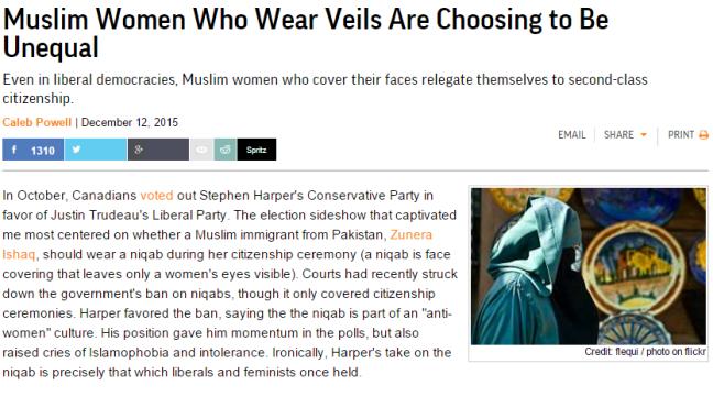 Reason Niqab